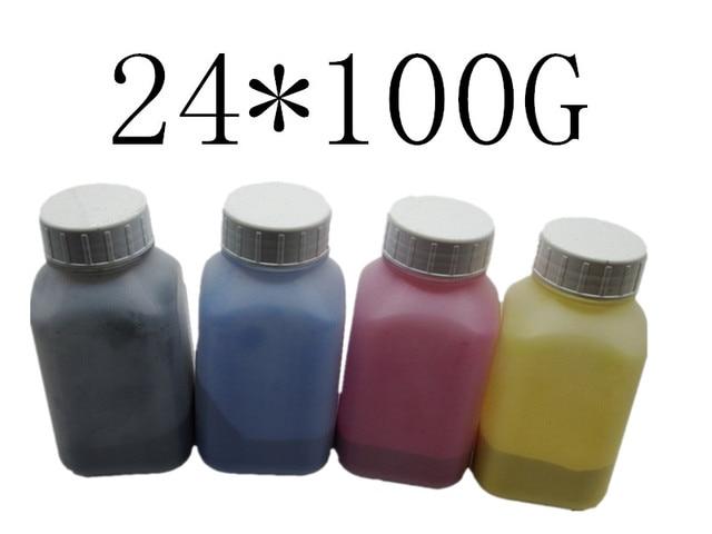 100g//Bottle,6 Black,6 Cyan,6 Magenta,6 Yellow No-name Refill Copier Color Laser Toner Powder Kit for Ricoh Aficio MPC3002 MPC3502 MPC4502 MPC5502A MPC5502 Laser Toner Power Printer