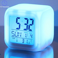 New Fashion Alarm Clock Quiet Creative Personality Children Luminous Student Bedroom Simple Bedside Electronic