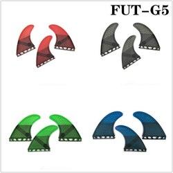 Deska surfingowa Future G5 z płetwą surfingową z włókna szklanego 3 szt. Zestaw tri Fin 4 kolory