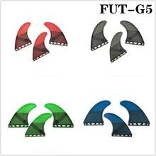 Surfboard Future G5 with Fiberglass Honey Surfing Fin 3PCS tri fin set 4 color