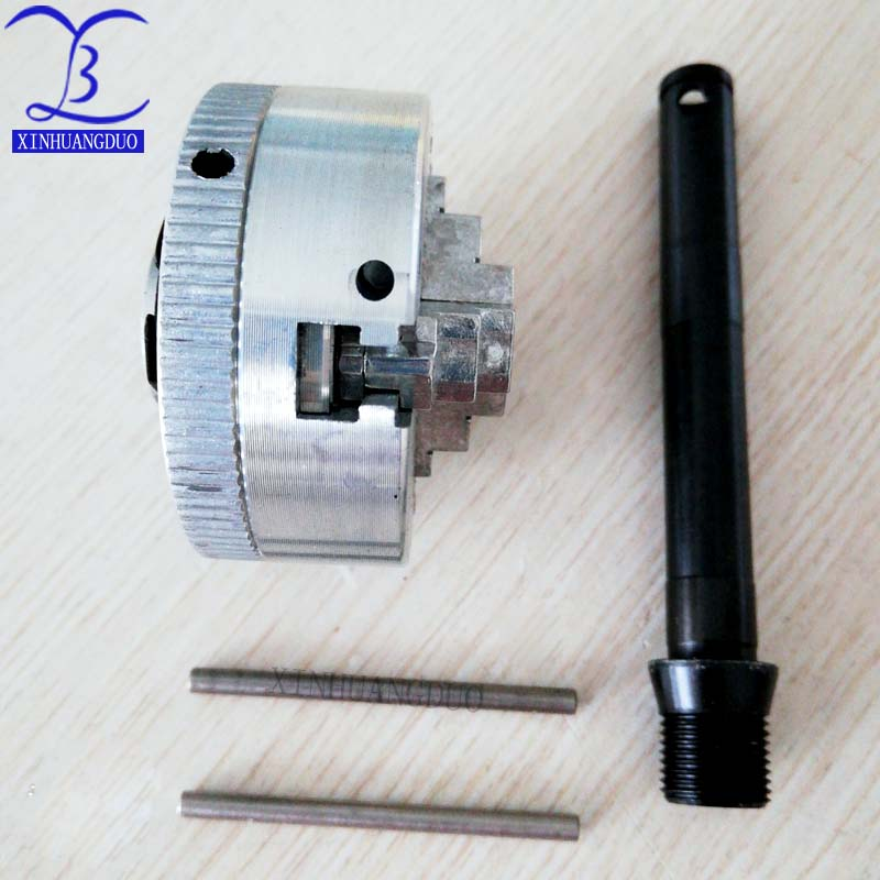 """XINHUANGDUO 2/"""" 45mm 3 Jaw Chuck 1.8~56mm //12~65mm Z011 Clamping for Mini Lathe"""