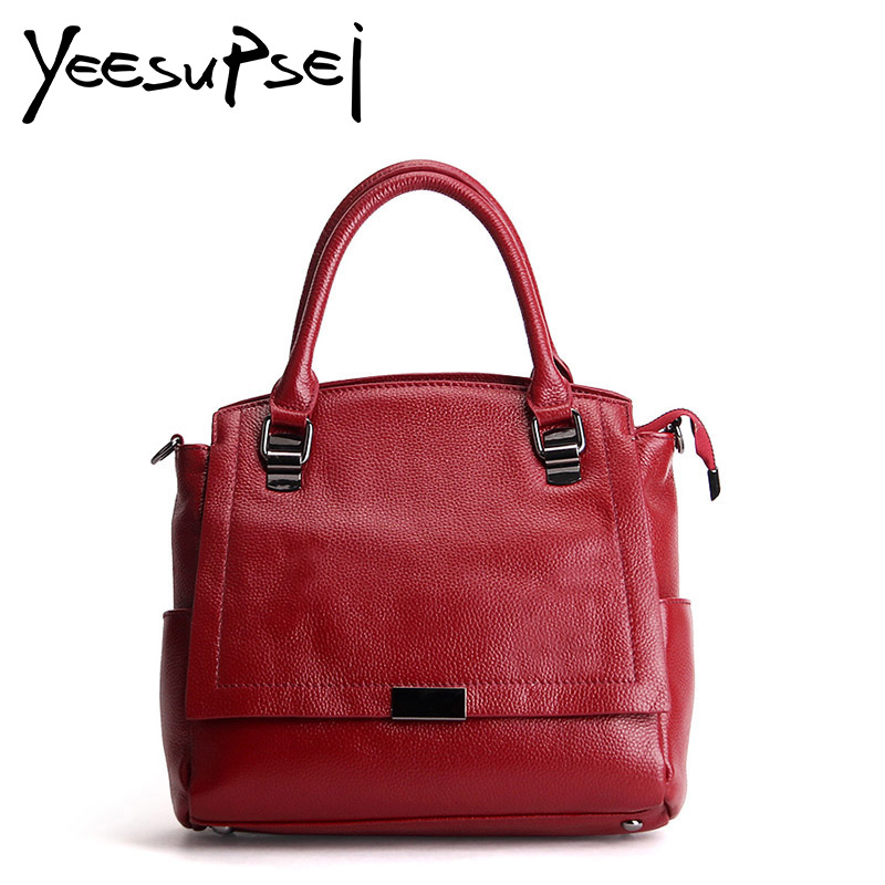 YeeSupSei Large Capacity High Quality Metal Women Shoulder Leather Women Cover Bag Fashion Women Messenger Hard Handle HandbagYeeSupSei Large Capacity High Quality Metal Women Shoulder Leather Women Cover Bag Fashion Women Messenger Hard Handle Handbag