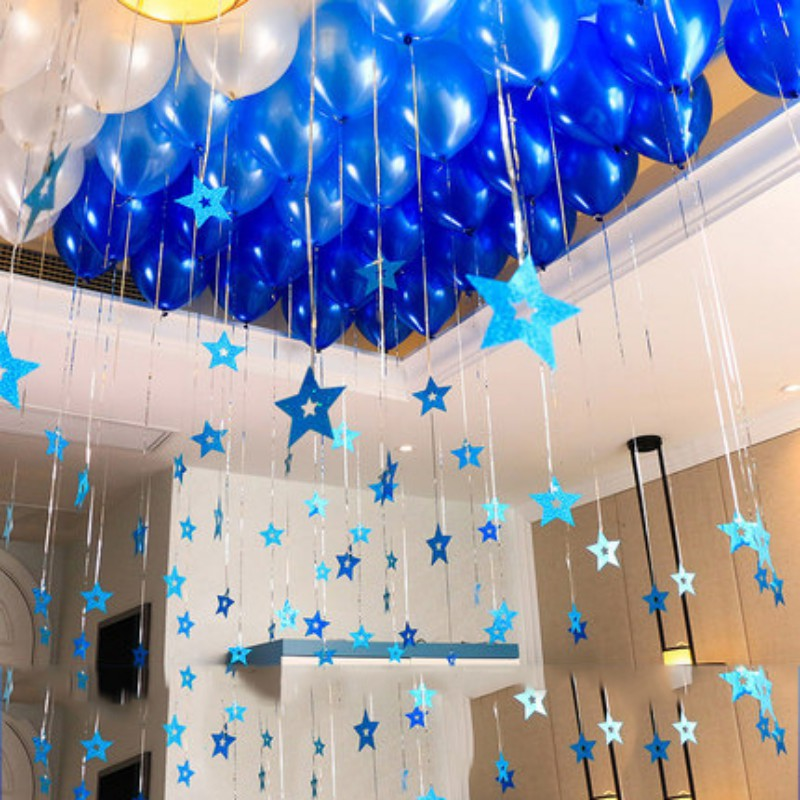 100 Sets Of Wedding Room Balloons Marriage Proposal Creative Romantic Balloons Valentine S Day Wedding Birthday Party Thicken Ballons Accessories Aliexpress