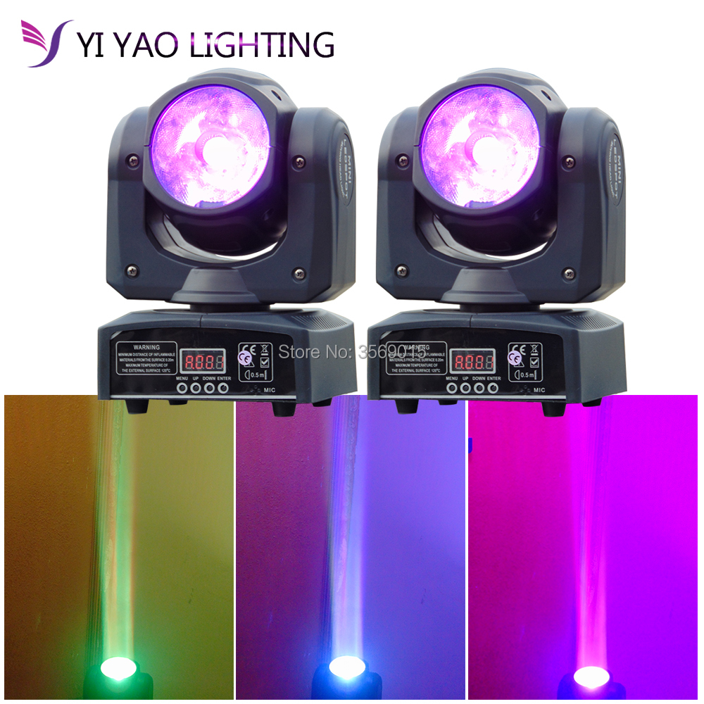 2018 LED moving head 60W RGBW DMX Stage Lights Business Lights High Power Light with Professional for Party KTV Disco DJ 2pcs lot mini led wash moving head 4x18w rgbwa uv dmx stage lights business high power with professional for party ktv disco dj