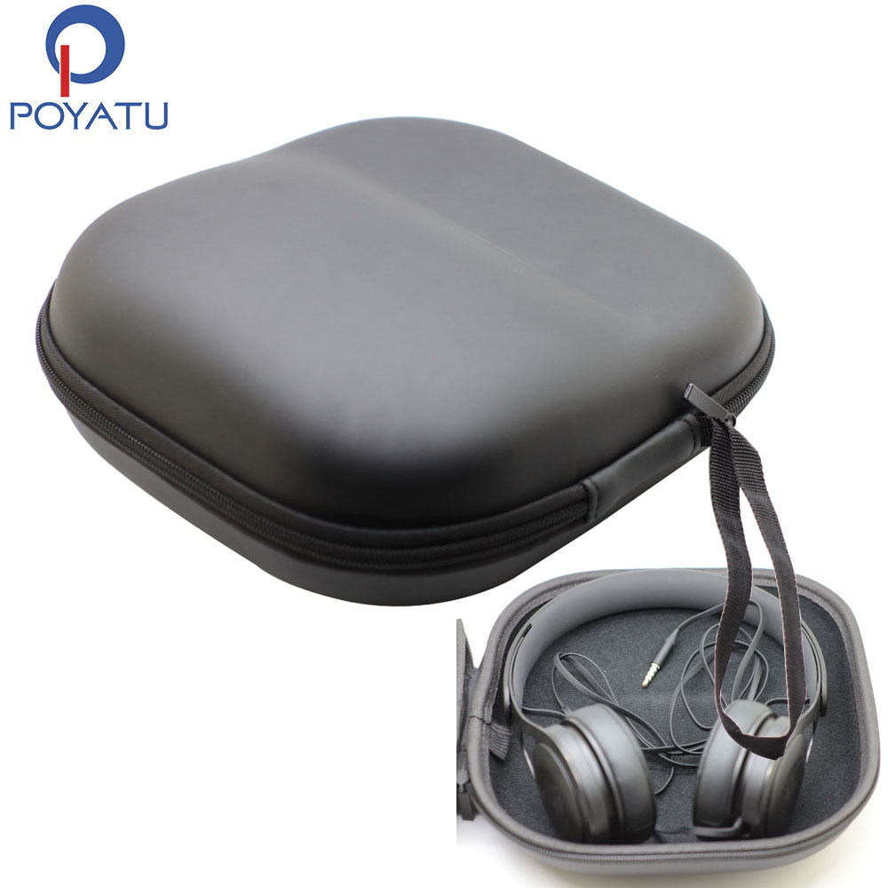 POYATU Headphone Case For Beats Solo HD Headphone Case Hard For Solo 2 Solo3 Wireless Beats EP Mixr Headphones Case Bag Cover