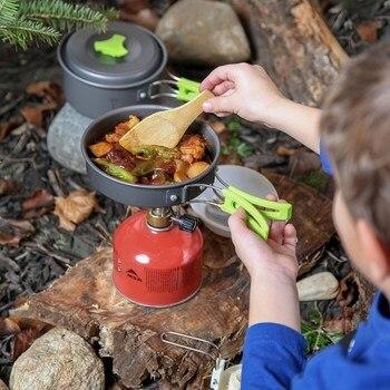 מחבת וסיר בישול לקמפינג