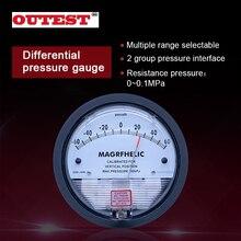 """1/8 """"NPT Pressão de Ar Barômetro Medidor De Medidor de pressão Diferencial de pressão positiva pressão Negativa (vácuo) faixa de medição"""