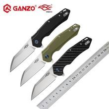 Ganzo Firebird FH31 D2 лезвие G10 или ручка из углеродного волокна 60HRC складной нож для выживания нож карманный тактический уличный инструмент EDC