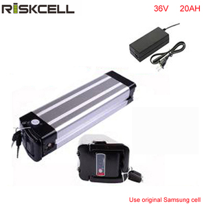 ebike 36v electric bike battery 36V 20Ah,for bafang/8fun 1000w motor with Aluminium Case For Samsung cell