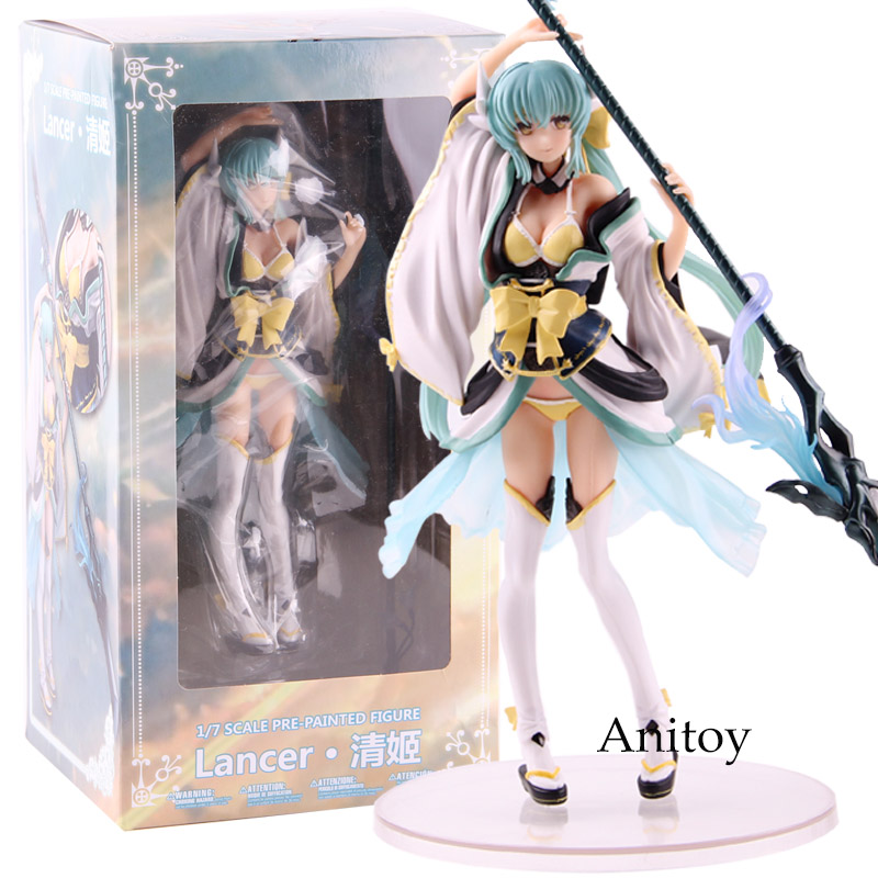 FGO Fate Grand Order Kiyohime Lancer 1/7 Scale Pre-Painted Figure PVC Fate Figure Action Collectible Model ToyFGO Fate Grand Order Kiyohime Lancer 1/7 Scale Pre-Painted Figure PVC Fate Figure Action Collectible Model Toy