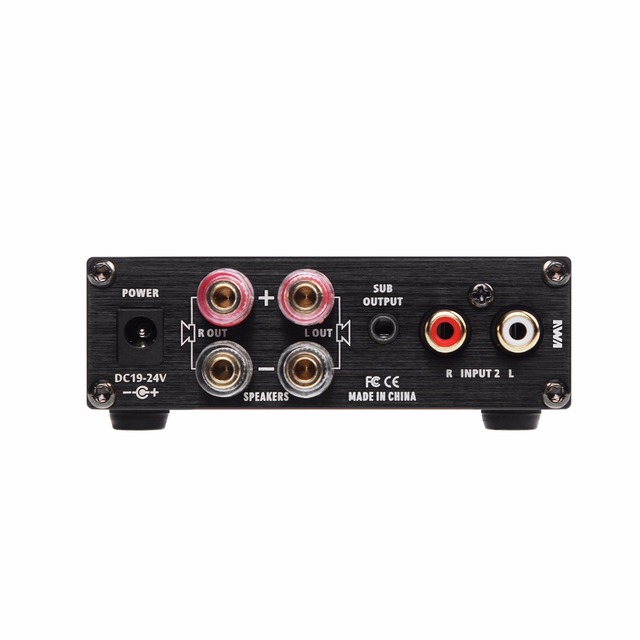 New SMSL A2 Audio Digital Home Theater Amplifier ,support 2 RCA Inputs and 3.5mm Headphone Jack Input 2