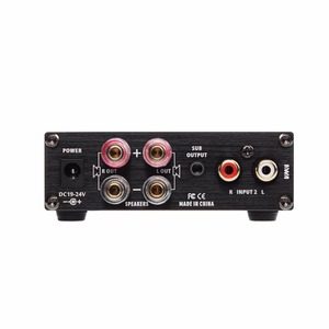 Image 2 - חדש SMSL A2 אודיו דיגיטלי קולנוע ביתי מגבר תמיכה 2 כניסות RCA 3.5mm לאוזניות קלט