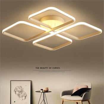 Модная современная светодиодная Люстра для домашнего украшения