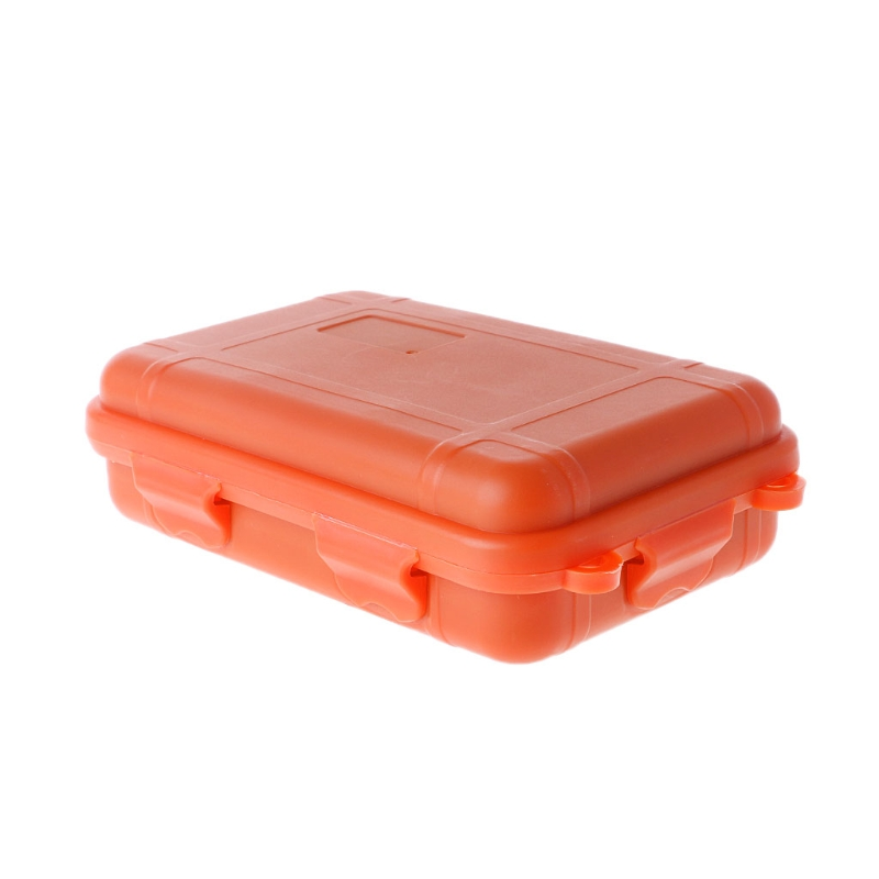 Outdoor Shockproof Waterproof Tool Box Airtight Case EDC Travel Sealed Container 649E