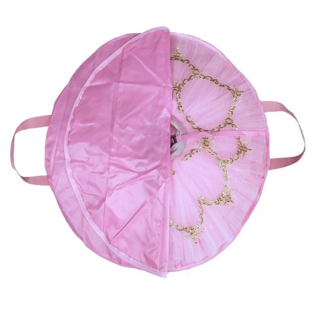 المهنية الباليه توتو حقيبة الوردي للبيع الأسود والأزرق الداكن والأزرق الباهت الألوان مقاوم للماء حقيبة Tutus المنافسة قابلة للطي توتو أكياس