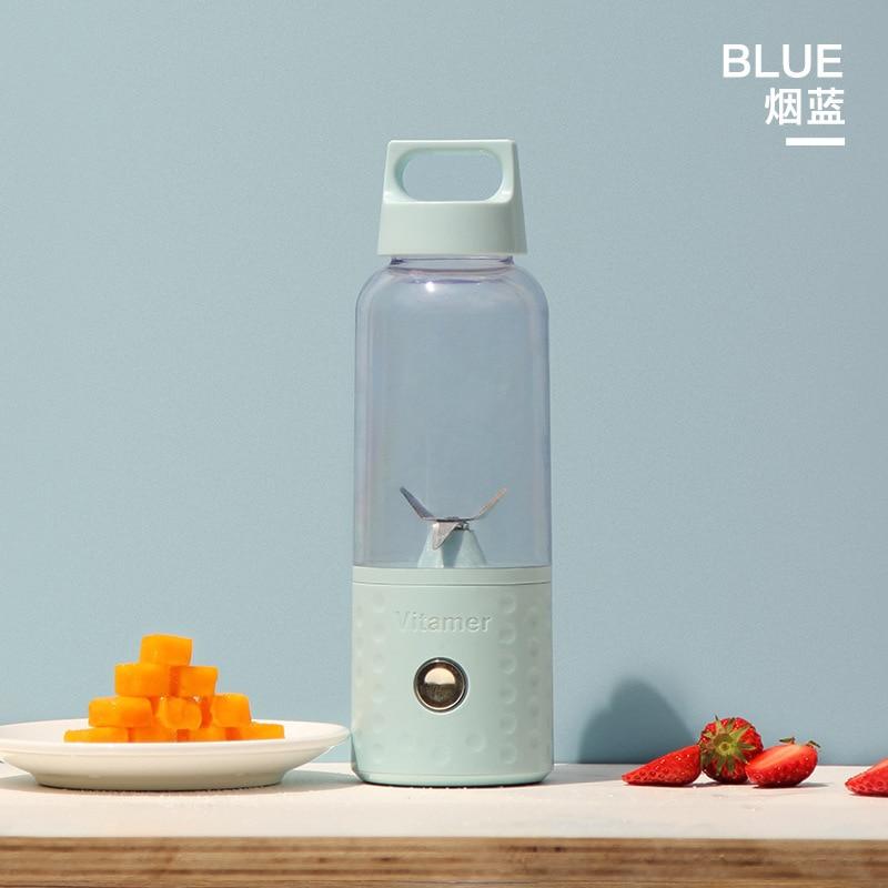 Can be Detachable 500ML Portable Vitamer Bottle Juicer Fruit Automatic Juicer Cup Electric Juice Cup Stir