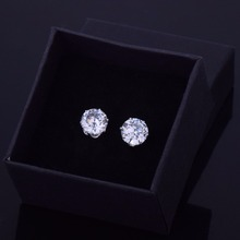 Iced Out Bling Stud Earrings (1 pair)