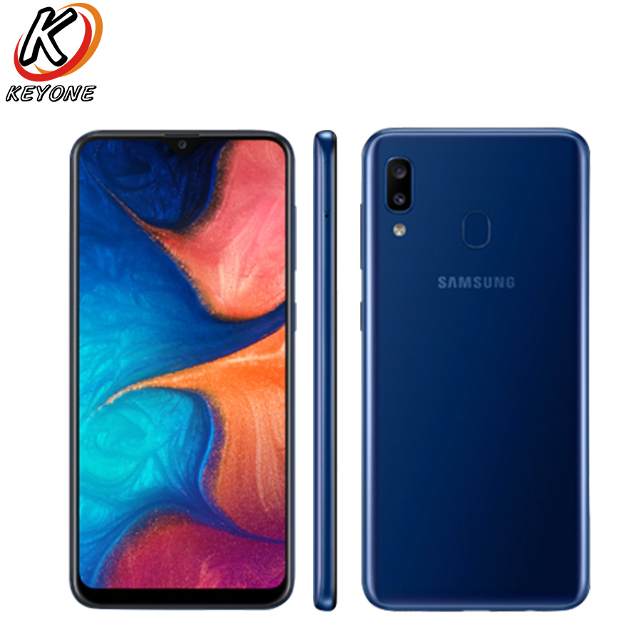 Samsung Galaxy A20 A205F DS Mobile Phone 6 4 3GB RAM 32GB ROM Exynos 7884 OctaCore