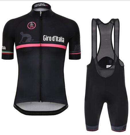 Fight For Pink Girod Italia Tour De Italy Cycling Jerseys Summer Bike Clothing MTB Road Ropa Ciclismo Bicycle Maillot Bib Shorts