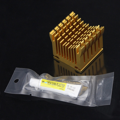 все цены на 40x38x36mm South Bridge Northbridge BGA chipset general radiator motherboard radiator cooling thermal conductivity silica gel