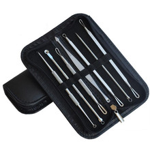 7pcs/lot Pimple Blemish Comedone Acne Needle Extractor Remover Tools Set