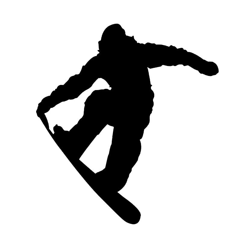 Hotmeini 13x12cm Quot Snowboarding Snowboarder Jump Car