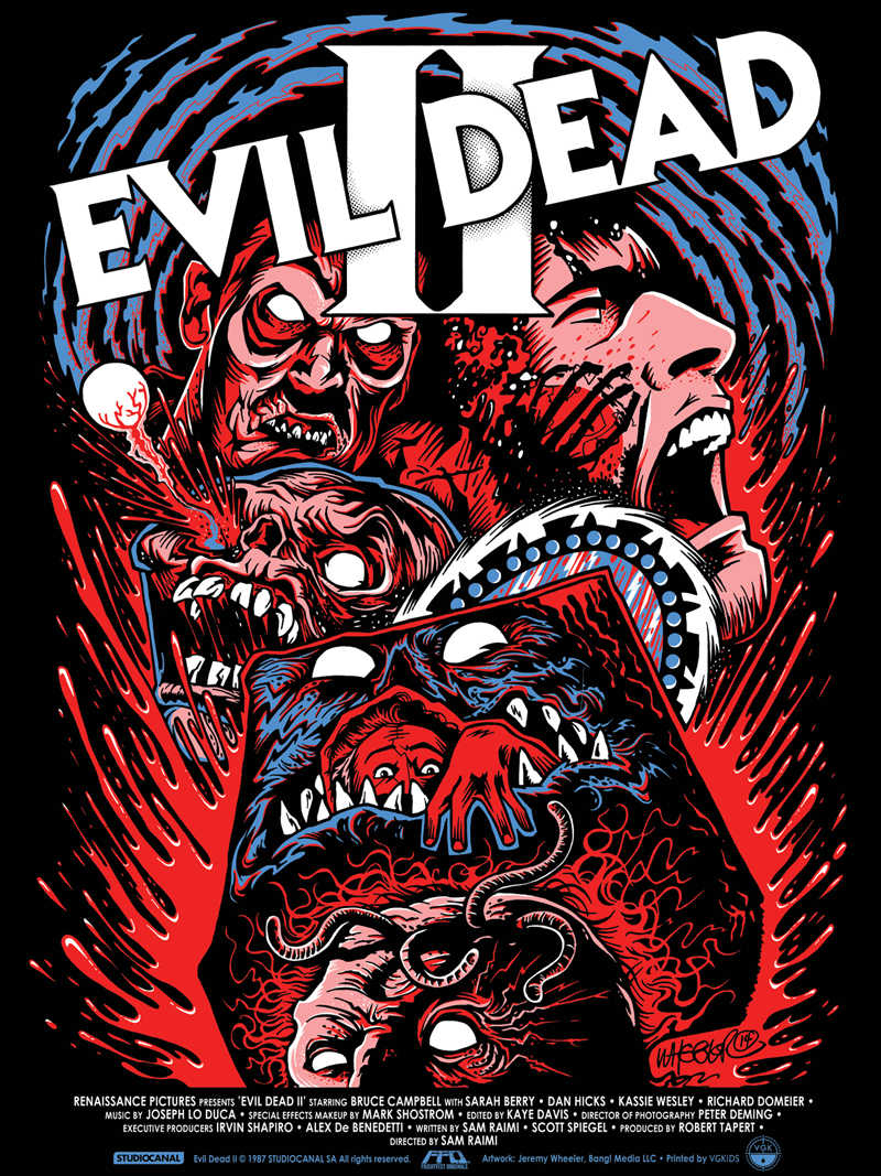 Evil Dead Xxx horror movie series the evil dead 2 vintage poster retro canvas painting  diy wall stickers art home bar posters decor gift