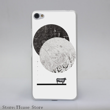 525G Calculating a Jump Over The Moon Print Transparent Hard Cover Case for Lenovo S850 S60 S90 A536 A328
