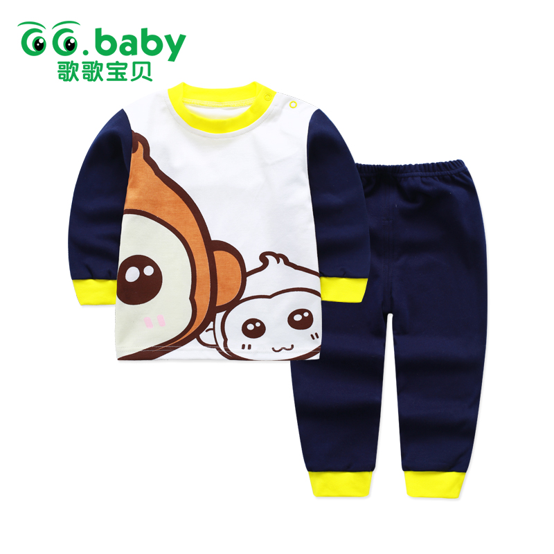 37d1ae4123 Winter Newborn Baby Boy Clothing Set Cotton Baby Boys Set Clothes Long  Sleeve Autumn Toddler Baby