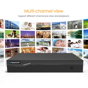 Image 5 - VStarcam 1 NVR 8CH + 4 PCS C7824WIP 720P HD Wireless IP Della Macchina Fotografica di IR Cut di Visione Notturna Audio rete di registrazione CCTV Macchina Fotografica Dellinterno del IP