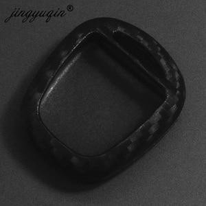 Image 3 - jingyuqin Carbon Silicone Car Key Cover Case for LEXUS RX300 ES300 TOYOTA CAMRY RAV4 PRADO COROLLA AVENSIS LAND CRUISER YARIS
