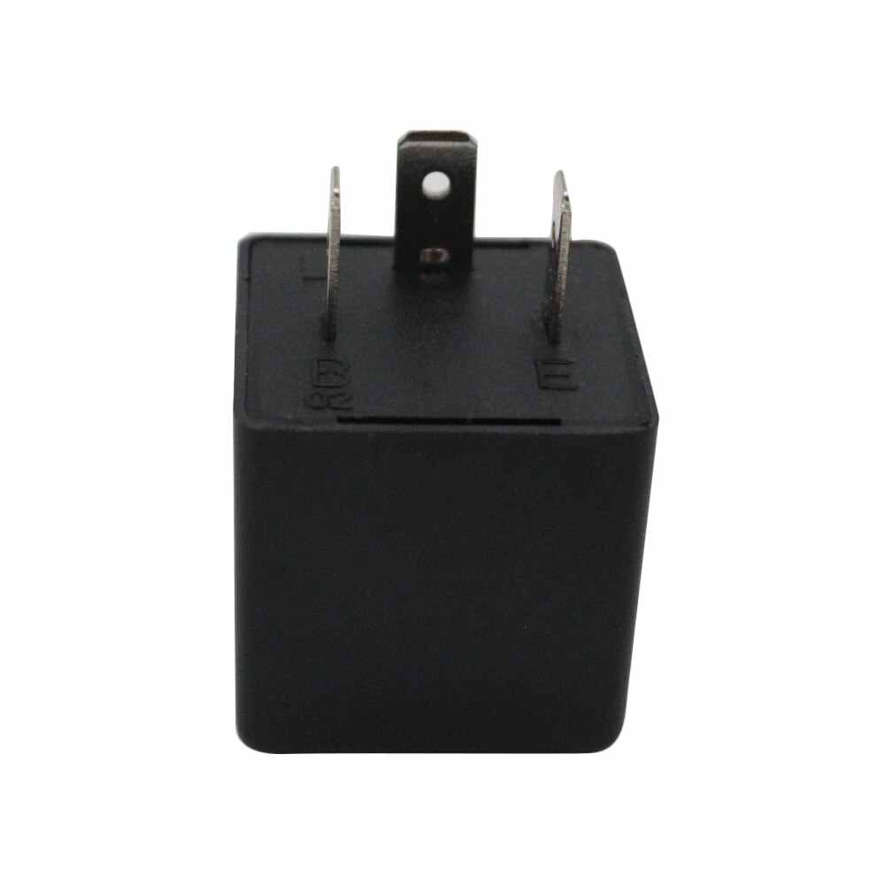 3-Pin LED Flasher Relay for LED Turn Signal Light Bulbs Fix LED Light Turn Signal Hyper Flash CF13 CF13JL EP34