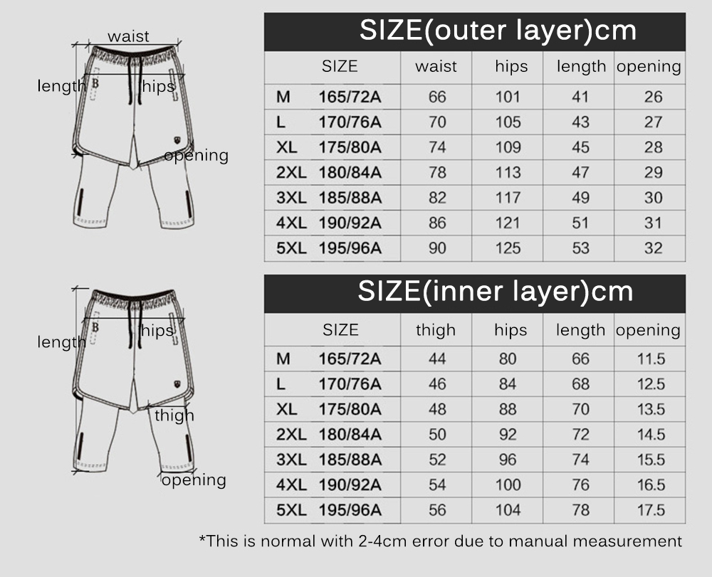 Leevy Quick Dry Fitness Tights Double Layer Men Compression Running Leggings Men\`s GYM Sports Cropped Trousers Training Tights (4)
