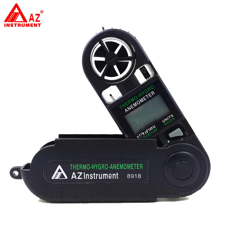 ФОТО AZ-8918 Pocket Type Digital Air Flow Meter, Windspeed Meter