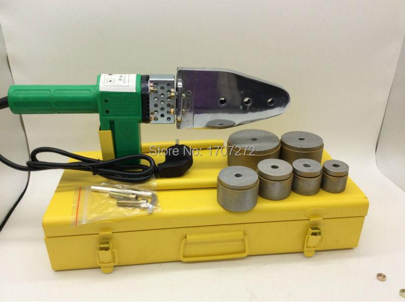 hegesztőberendezés állandó hőmérsékletű elektronikus ppr hegesztőgép, műanyag hegesztő hegesztőcsövekhez AC 220V 800W, 20-63mm