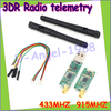 Single TTL 3DRobotics 3DR Radio Telemetry Kit 433Mhz 433 915MHZ For APM APM2