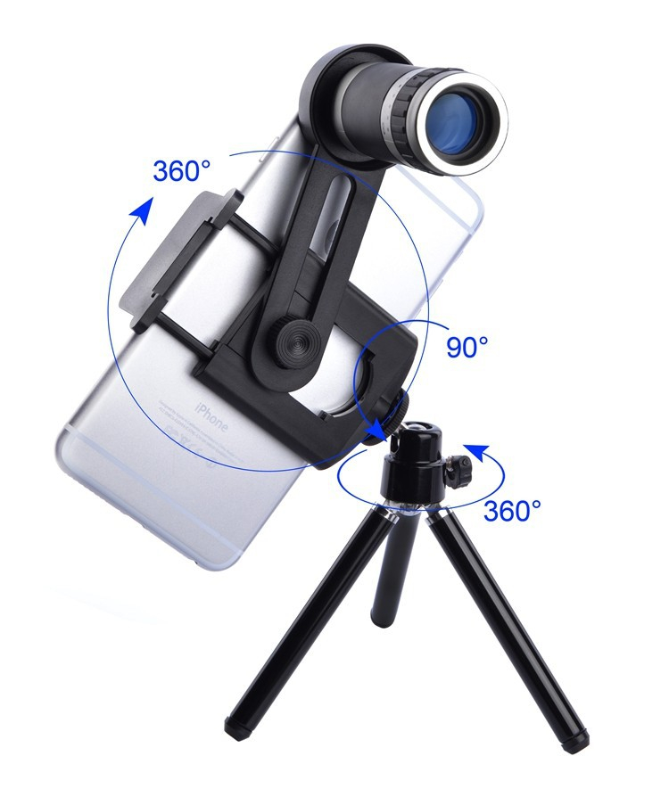 Цена за 2017 HD Объективы для мобильных телефонов комплект 8X телескопа Камера телефото Lentes для Iphone 4 4s 5 5S 5C SE 6 6 S 7 8 плюс Смартфон