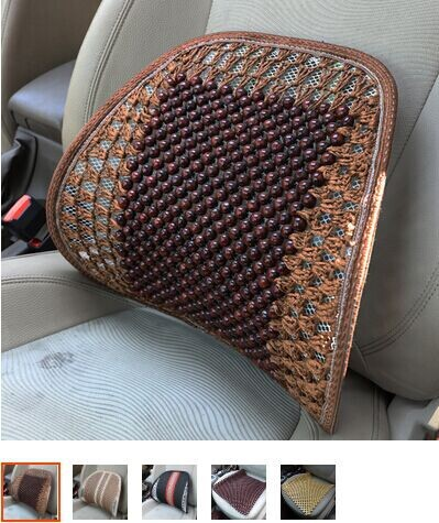 Car cushion for leaning on of lumbar cushion seat back cushion breathable waist massage waist cushion