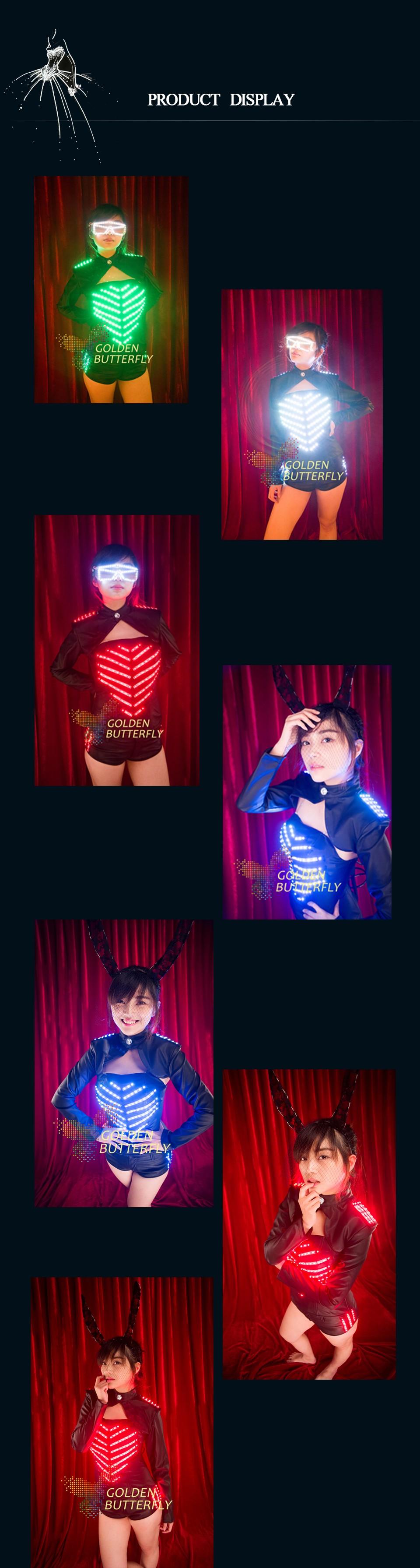 LED tuledega kostüüm naistele