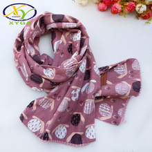 1PC Childrens Cotton Long Scarf 2018 Autumn Boys and Girls Cute Double-deck Wraps Kids Soft Neckerchiefs Winter