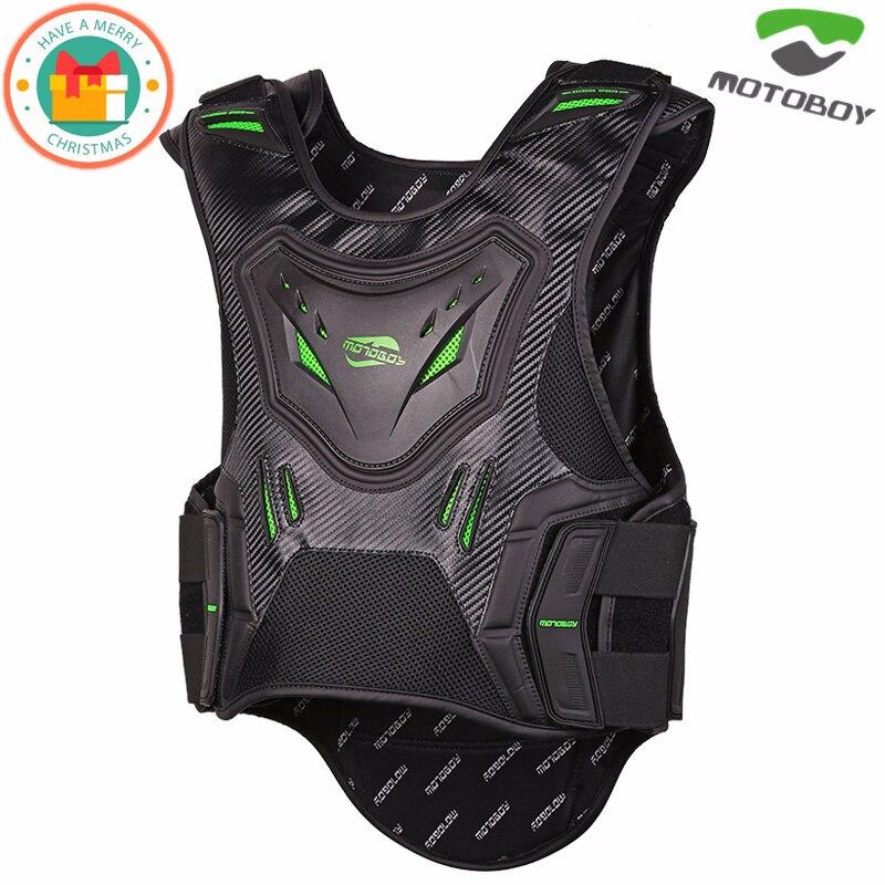 bd0273f4df37 NUOVO MOTOBOY Moto Moto Enduro Del Corpo Armatura di Protezione Ciclismo  Spine Petto di Protezione