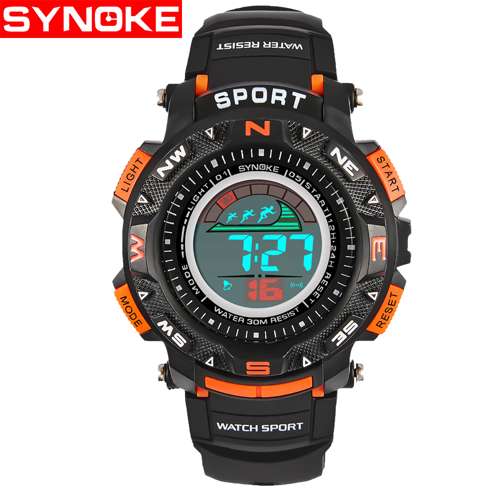 SYNOKE Kinderen LED Horloges Back Light Sport Kids Digital Horloges - Kinderhorloges - Foto 4