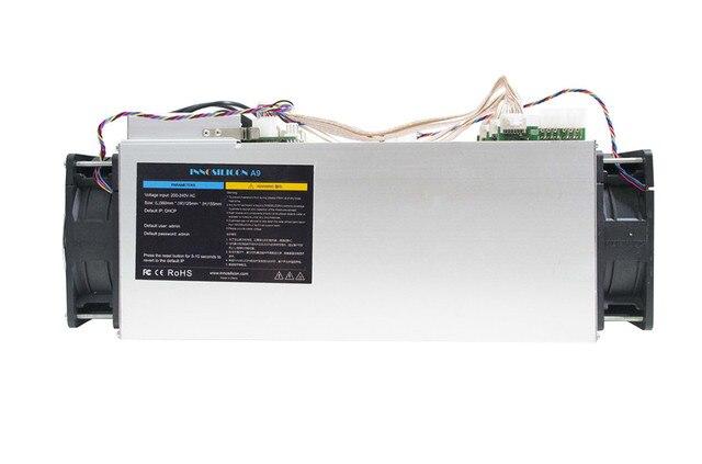 Б/у Zcash Шахтер ZCL ЗХ BTG Asic машина Innosilicon A9 ZMaster 50 k sol/s Equihash Miner с 750 W Питание