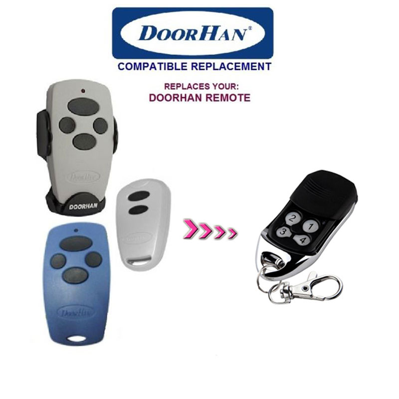 TOP QUALITY! fOR DOORHAN Replacement Rolling Code Remote Control  free shipping