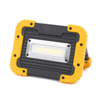 10W COB LED Work Light Floodlight flashlight Camping Spotlight Searchlight Built in Rechargeable Li Batteries With USB to charge