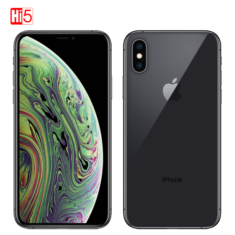 Original Apple iPhone XS 4gb RAM 64gb/256gb ROM 5.8 Retina OLED Display 4G LTE Smart Phone A12 Bionic Chip Face ID IOSphone