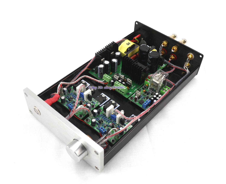 DIYERZONE Finished HIFI NAP250 MOD Stereo Power Amplifier 80W+80W Desktop Audio Amp 2pcs assembeld ncc200 power amplifier board base on uk naim nap250 135 amplifier 80w 80w