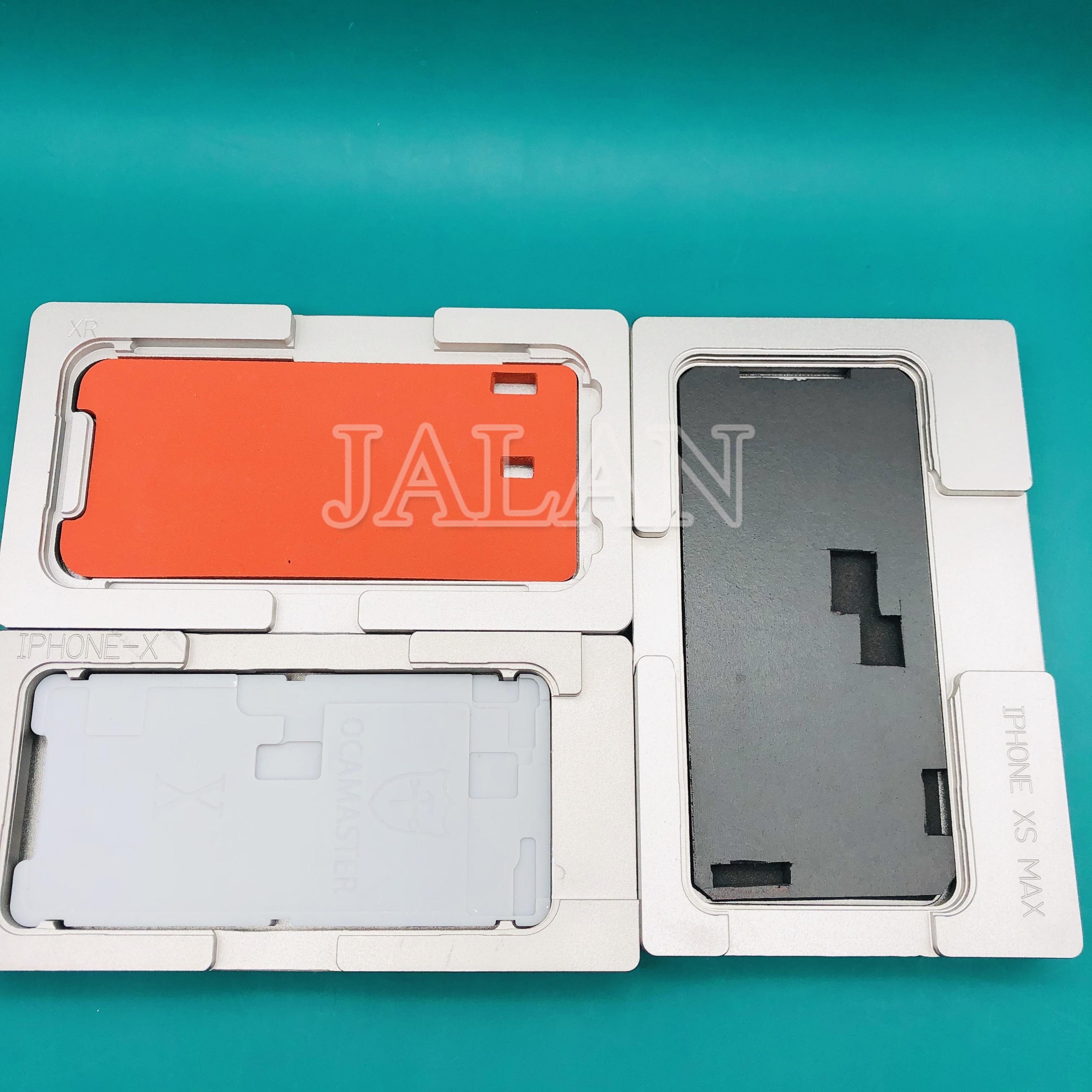 OCA MASTER universele lamineren mold voor iPhone XS MAX XR LCD display glas frame OCA digitizer reparatie alignment mould-in Reparatiegereedschapsset voor telefoons van Mobiele telefoons & telecommunicatie op AliExpress - 11.11_Dubbel 11Vrijgezellendag 1
