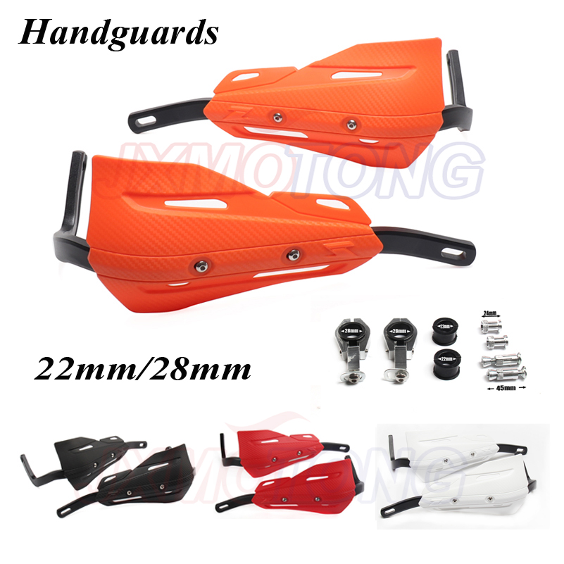 7/8 22mm Or 1-1/8 28mm handguards Hand Guards for CR CRF YZF KXF RMZ BSE Dirt Bike MX Motocross Enduro Supermoto OFF ROAD