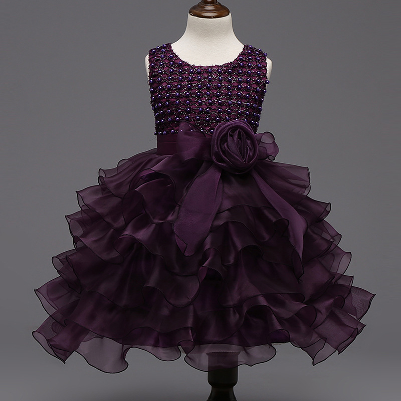 New Year Party Dresses Of Girls Wedding Princess New Year Party Dress Baby Girls